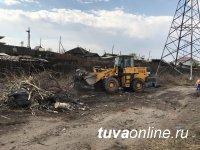 Кызыл в Год Экологии: Очищены от грязи река Донмас-суг и главная улица мкр-на «Спутник», собраны тысячи мешков мусора