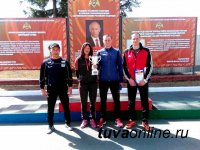 У команды Росгвардии по Туве – серебро Чемпионата Сибири по служебному биатлону
