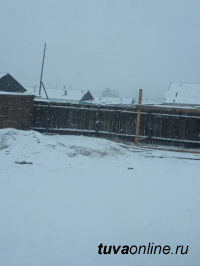 В отдельные кожууны Тувы вернулась зима