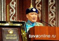 Глава Тувы поздравил земляков и гостей республики с государственным праздником – Днем Конституции Республики Тыва