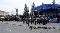 Фронтовики отметили высокий уровень организации Парада Победы в Кызыле