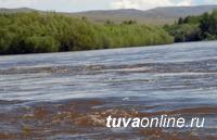 На реках Тувы наблюдается повышение уровня воды