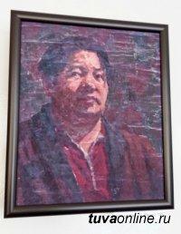 В Туве к 90-летию со дня рождения художника Сергея Ланзы открылась выставка