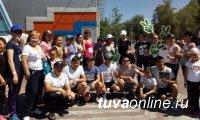 Коллектив Кызылского отделения ПАО Сбербанк поддержал антиалкогольную кампанию в Туве