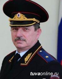 Министр внутренних дел Тувы Александр Лобанов поздравил главу республики Шолбана Кара-оола с Орденом Дружбы