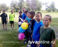 Сотрудники полиции организовали для воспитанников кадетской школы «Веселые старты»