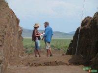 Первобытные стоянки в Туве, загадки оленных камней – на лекции Марины Килуновской