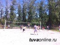 Пляжный волейбол в Кызыл: одни соревнования позади, впереди - состязания ко Дню молодежи