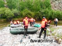 В Туве спасатели обеспечили безопасность на соревнованиях по скоростному сплаву по реке Элегест