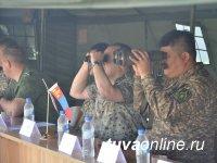 Совместные учения российских и монгольских пограничников на тувинском участке Госграницы