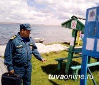 В Туве открыт еще один пляж в детском оздоровительном лагере