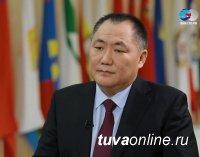 """Тува играет связующую роль в """"Енисейском меридиане"""" - Шолбан Кара-оол"""
