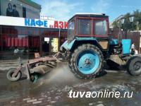Чистый Кызылский Арбат - ко Дню республики!