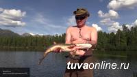 Котлеты из щуки появились в меню президентских самолетов после рыбалки Владимира Путина в Туве