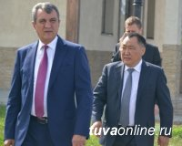 Мне комфортно в Туве – полпред Президента РФ Сергей Меняйло