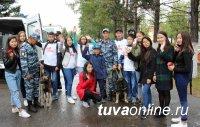 В День города сотрудники МВД Тувы организовали работу познавательных площадок