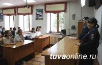 В Гослицее состоялась встреча сотрудников Центра по противодействию экстремизму и отдела по делам несовершеннолетних с учащимися выпускных классов