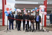 Торжественно открыт парк города Чадана, обновленный по проекту «Городская среда»