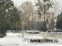 В Туве установился снежный покров