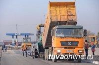 В Кызыле реконструируется одна из самых «убитых» дорог