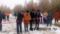 Тува: Открыт новый мост через реку Тапсы