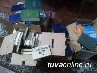 Кызылчане активно помогают пополнению книжного фонда библиотеки в микрорайоне «Спутник»
