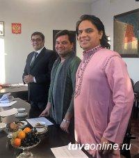 В Туву прибыла делегация из Культурного центра им. Джавахарлара Неру при посольстве Индии в Москве