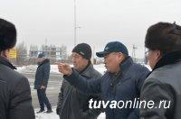 Качество работ на реконструированном Ангарском бульваре в Кызыле оценил общественный контроль