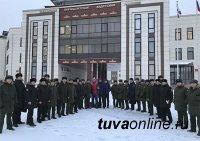 Тренеры ЦСКА по единоборствам провели мастер-классы для кадетов Кызылского президентского кадетского училища