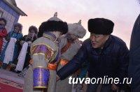 Глава Тувы посетил с рабочей поездкой труднодоступное село Улуг-Хемского района