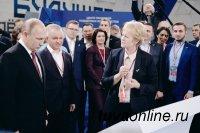 Светлана Калинина рассказала Президенту об итогах реализации проекта благоустройства городской среды