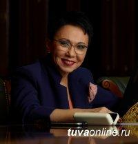 Депутат Госдумы Лариса Шойгу поздравила земляков с Новым годом