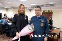 Журналисты Тувы награждены медалями МЧС России