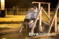 В Туве более 1000 человек приняли участие в Крещенских купаниях