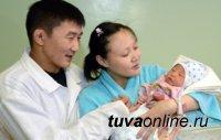 В 2017 году в Туве родилось 3688 мальчиков и 3353 девочек