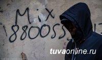 """""""Автора"""" объявлений на заборах о продаже насвая установили полицейские Кызыла"""