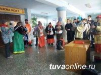 В Шагонаре (Тува) отметили «заигрыш» - вторник Масленичной недели