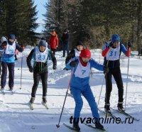В МВД по Республике Тыва определены победители личного Первенства по лыжным гонкам среди сотрудников