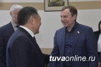Глава Тувы привлечет специалистов из Красноярска к решению проблемы утилизации отходов кобальтового производства