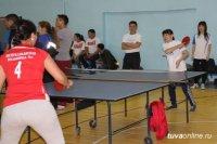 Соревнования по настольному теннису ко Дню 8 марта