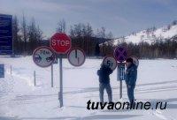 В Туве грузоподъемность Тоджинской ледовой переправы снижена до 5 тонн