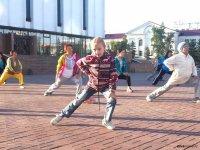 Молодежный парк приглашает 23 марта в 17 часов кызылчан на массовую зарядку