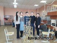 На  инженерно-техническом факультете ТувГУ прошел конкурс «Макаронный строитель-2018»