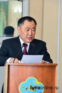 Глава Тувы выступил в Верховном Хурале с отчетом об итогах работы правительства в 2017 году