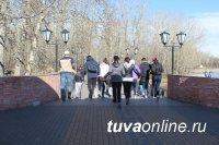 Накануне 9 мая в ТувГУ проведен спортивно-исторический квест «Дорогами Победы»