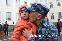 Сводный отряд МВД по Республике Тыва отправился в очередную служебную командировку в Северо-Кавказский регион