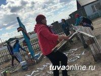 К 100-летию тувинского добровольца Сояна Бады в селе Чыргаланды отремонтирован его памятник