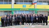 Руководители полиции Тувы, Хакасии, Красноярского края обсудили вопросы взаимодействия