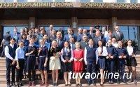 Лучшие знатоки Конституции Тувы работают в Чеди-Хольском и Кызылском районных судах