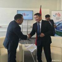 Глава Тувы с рабочим визитом находится в столице Монголии